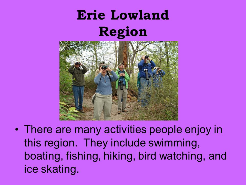 Erie Lowland Region