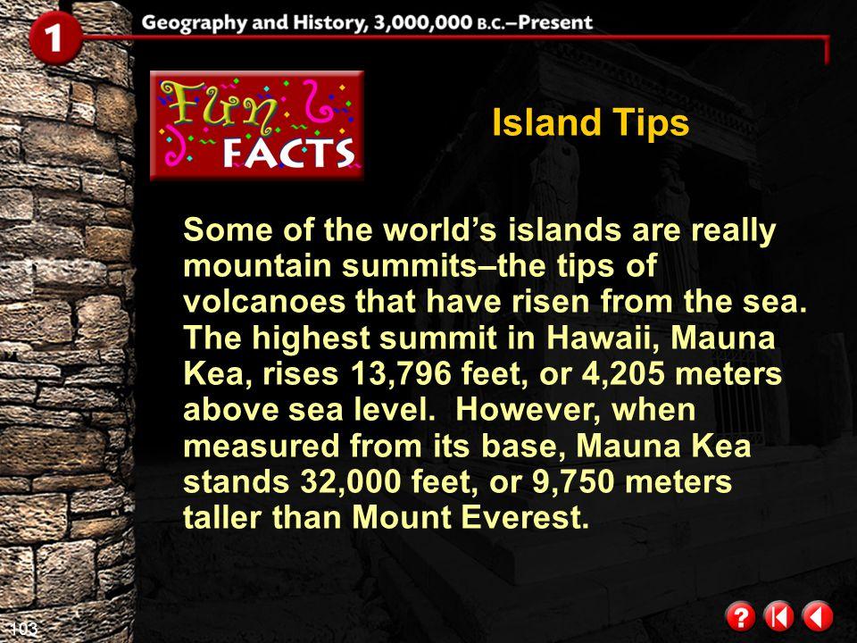 Island Tips