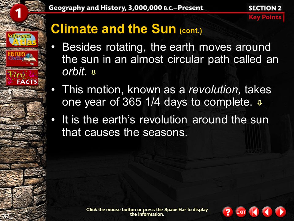 Climate and the Sun (cont.)