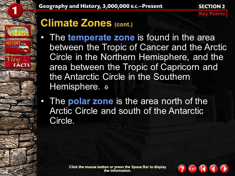 Climate Zones (cont.)