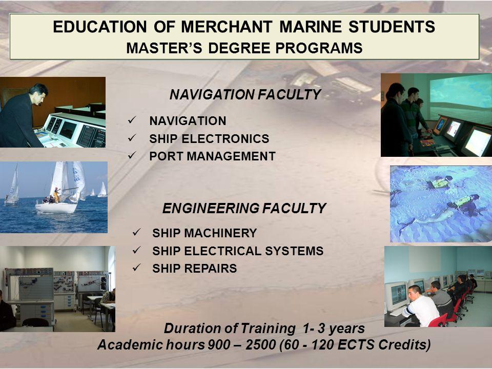 EDUCATION OF MERCHANT MARINE STUDENTS