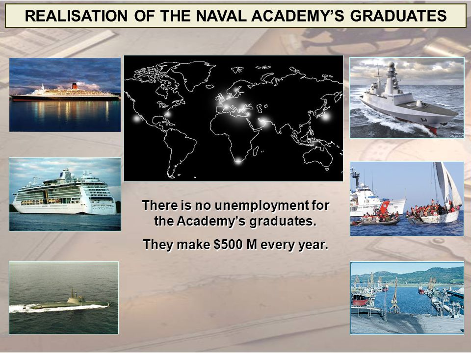 REALISATION OF THE NAVAL ACADEMY'S GRADUATES