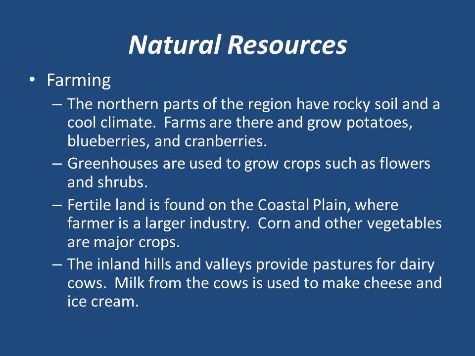 Natural Resources Farming