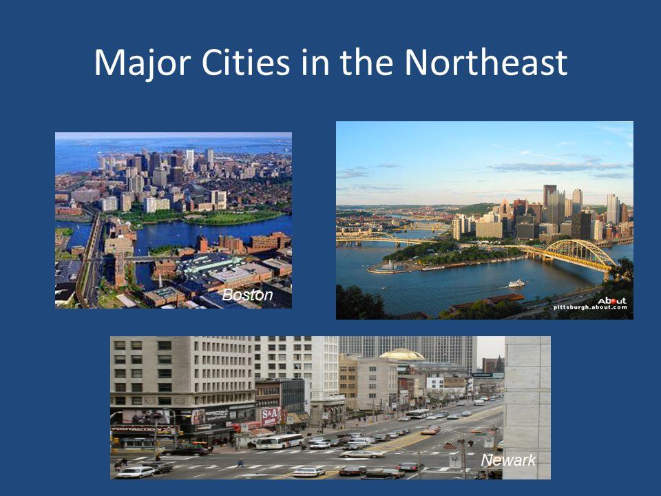 Major Cities in the Northeast