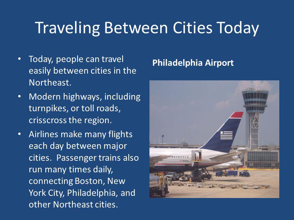 Traveling Between Cities Today
