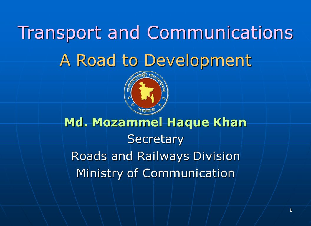 Transport and Communications