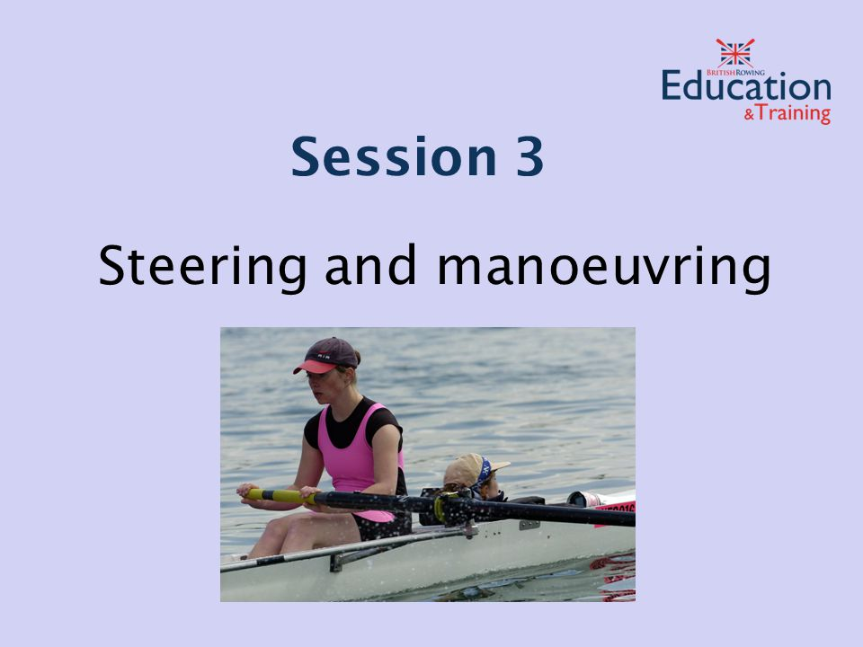 Steering and manoeuvring