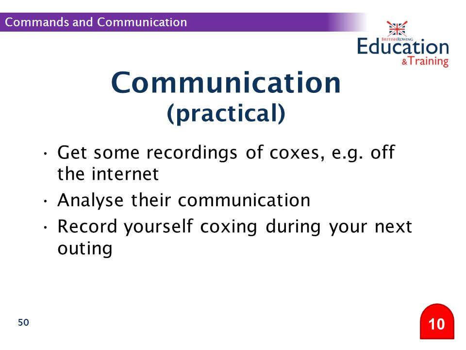 Communication (practical)