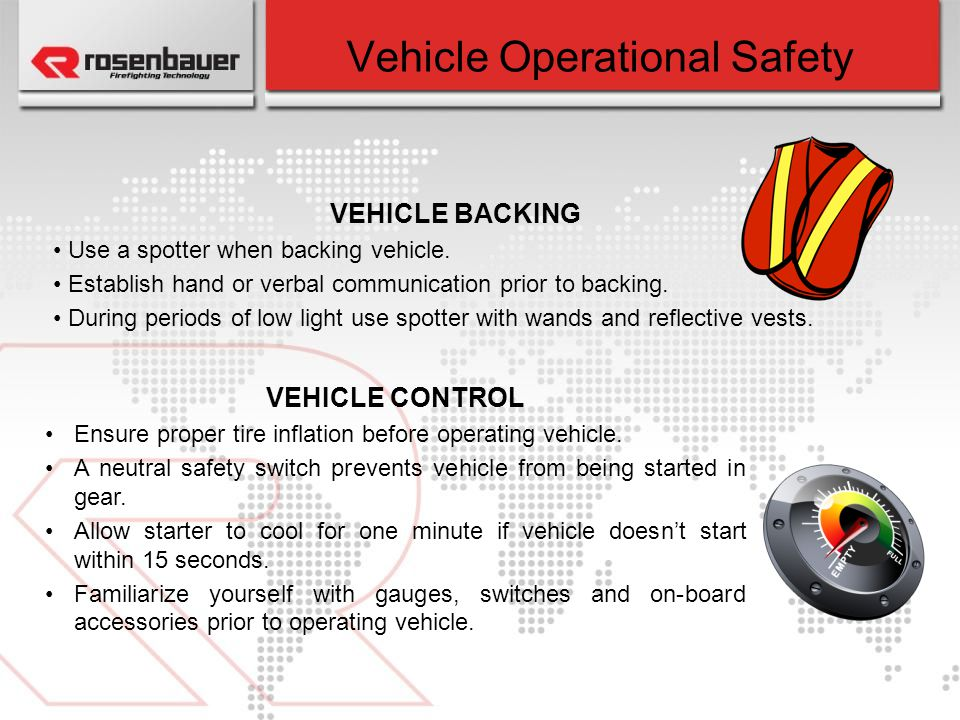 Vehicle Operational Safety