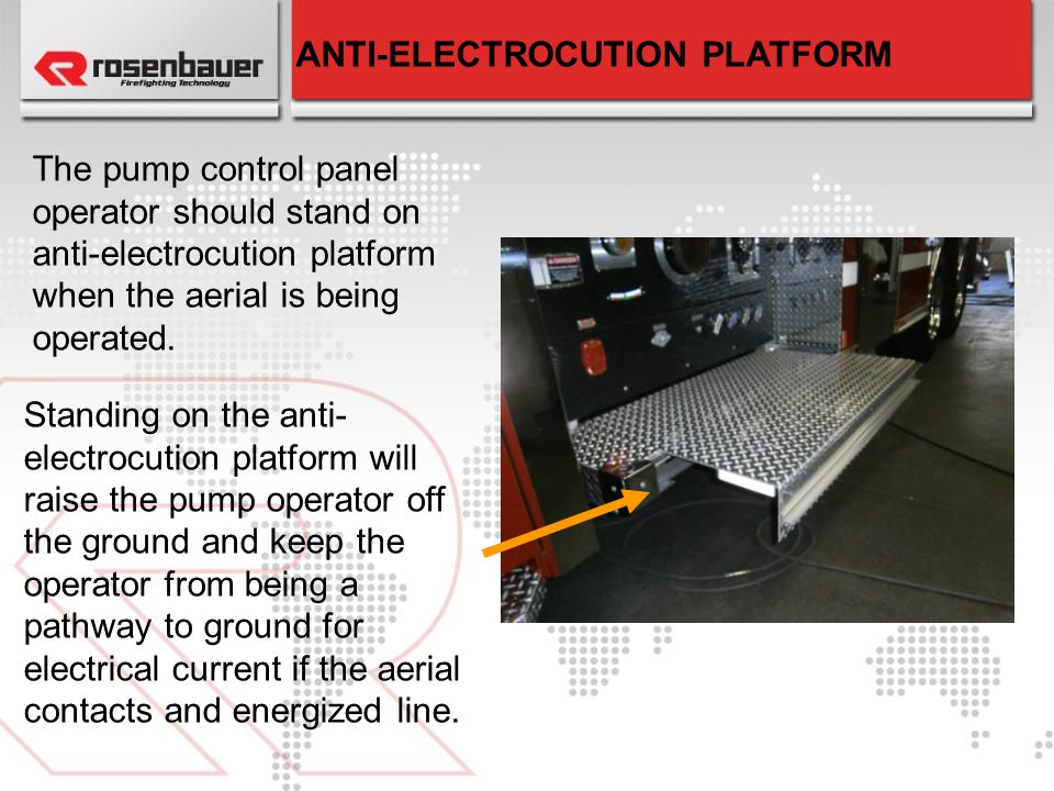 ANTI-ELECTROCUTION PLATFORM
