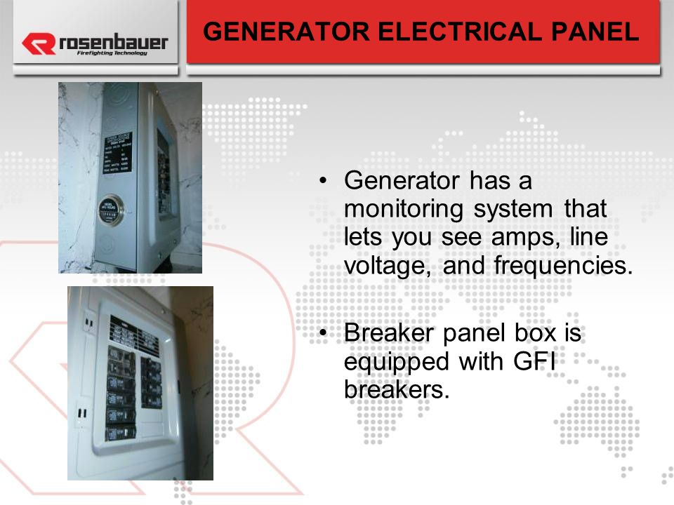GENERATOR ELECTRICAL PANEL
