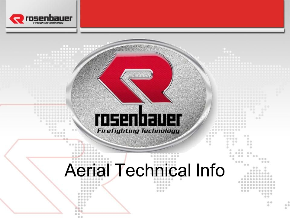 Aerial Technical Info