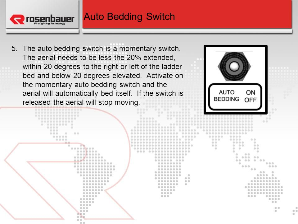 Auto Bedding Switch