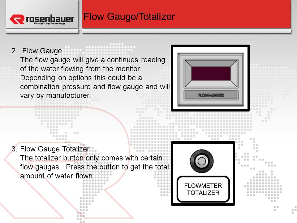 Flow Gauge/Totalizer Flow Gauge