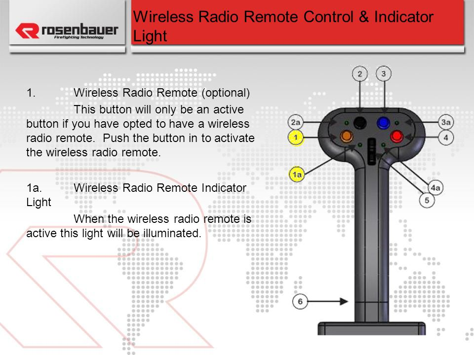 Wireless Radio Remote Control & Indicator Light