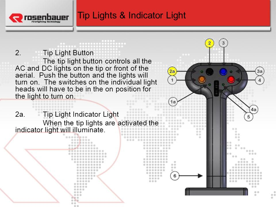 Tip Lights & Indicator Light