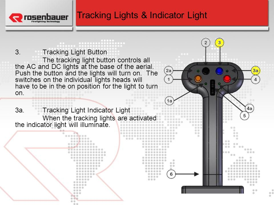 Tracking Lights & Indicator Light
