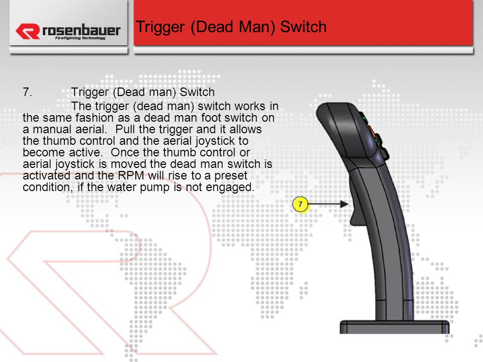 Trigger (Dead Man) Switch