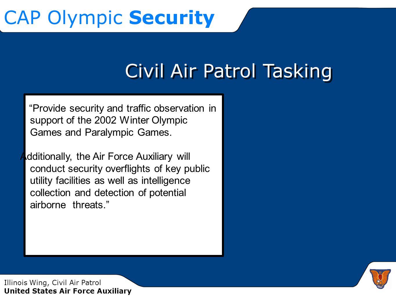 Civil Air Patrol Tasking