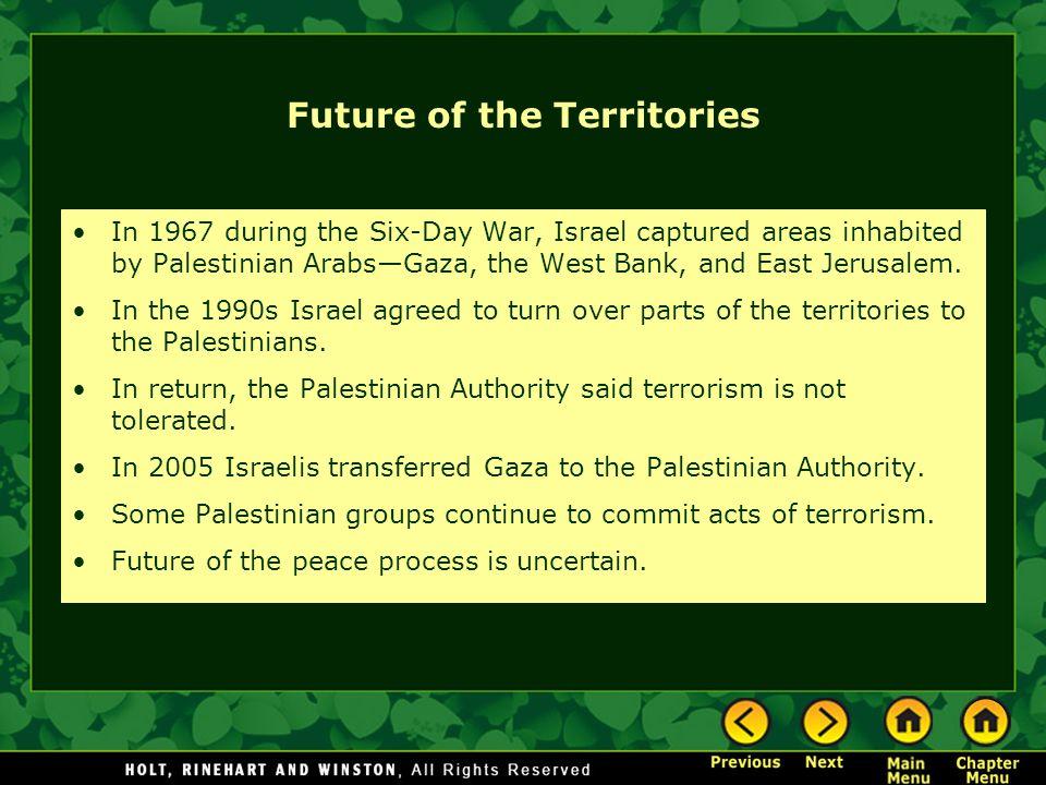 Future of the Territories