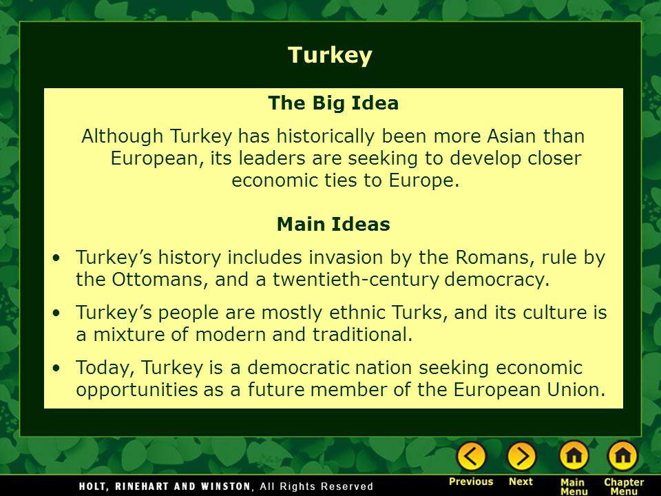 Turkey The Big Idea.