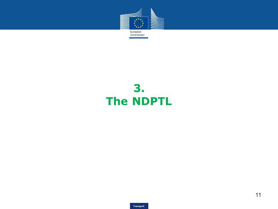 3. The NDPTL