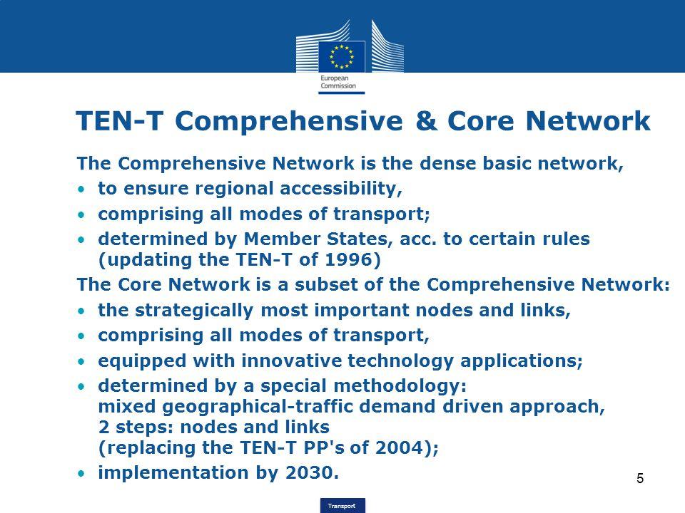 TEN-T Comprehensive & Core Network