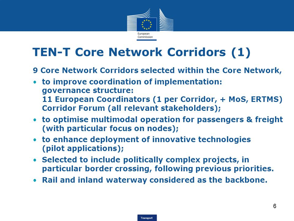 TEN-T Core Network Corridors (1)