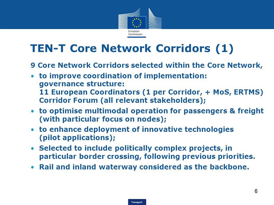 TEN-T Core Network Corridors (1)