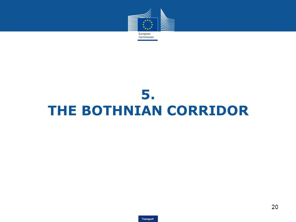 5. THE BOTHNIAN CORRIDOR