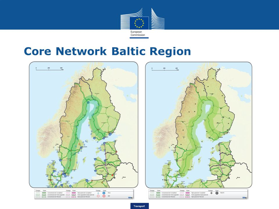 Core Network Baltic Region