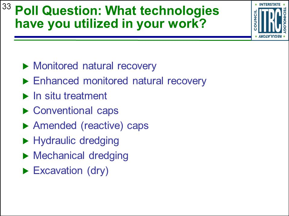 Poll Question: What technologies have you utilized in your work