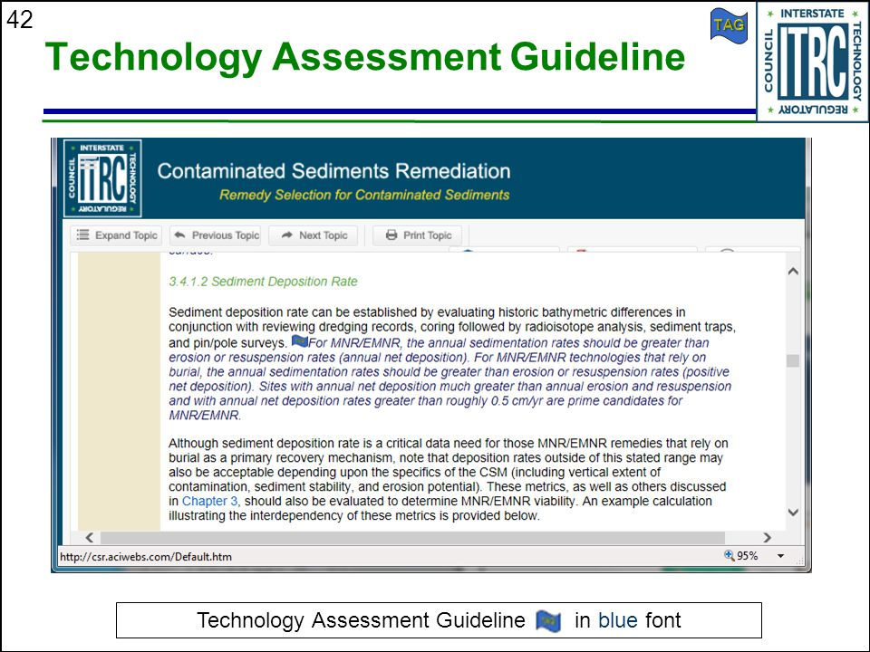 Technology Assessment Guideline