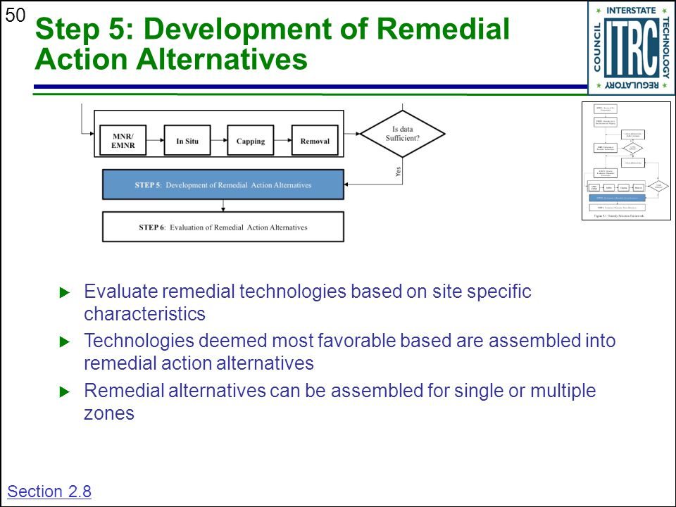 Step 5: Development of Remedial Action Alternatives