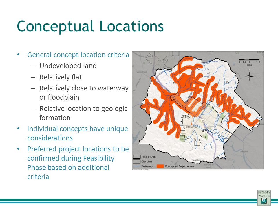 Conceptual Locations General concept location criteria