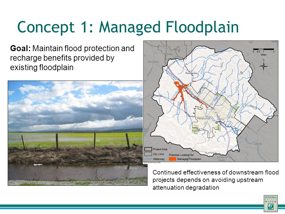 Concept 1: Managed Floodplain
