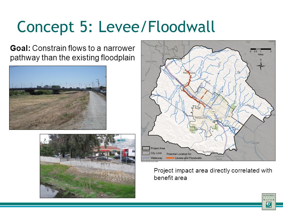 Concept 5: Levee/Floodwall