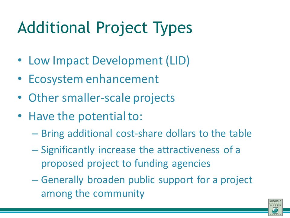 Additional Project Types