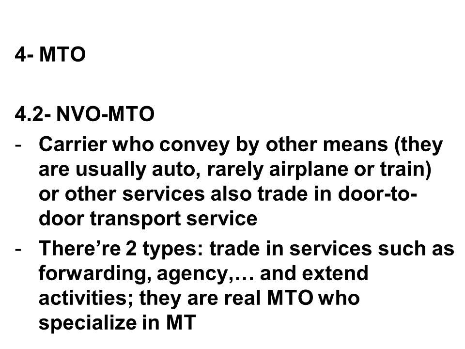 4- MTO 4.2- NVO-MTO.