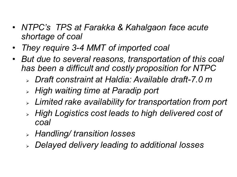 NTPC's TPS at Farakka & Kahalgaon face acute shortage of coal