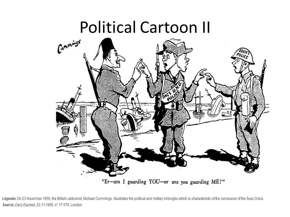 Political Cartoon II