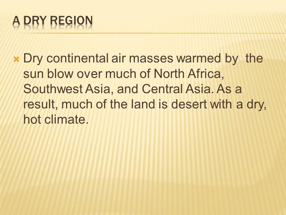 A Dry Region
