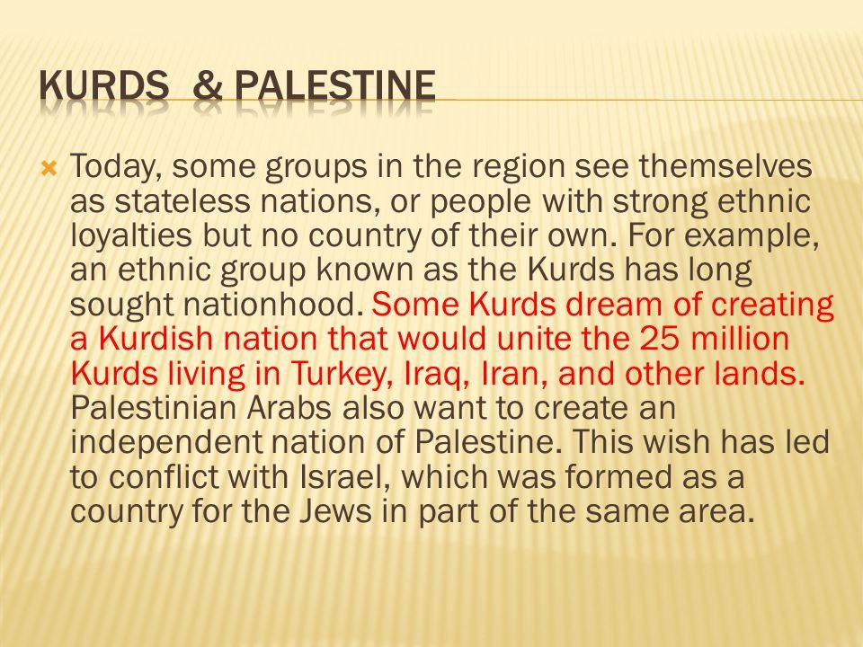 Kurds & Palestine