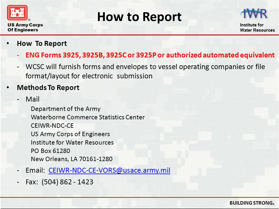 How to Report How To Report
