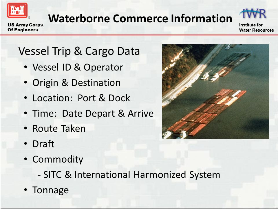 Waterborne Commerce Information