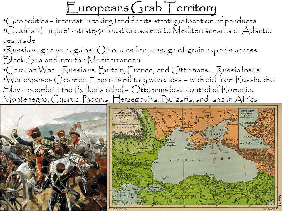 Europeans Grab Territory