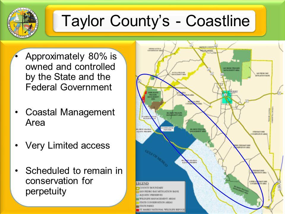 Taylor County's - Coastline