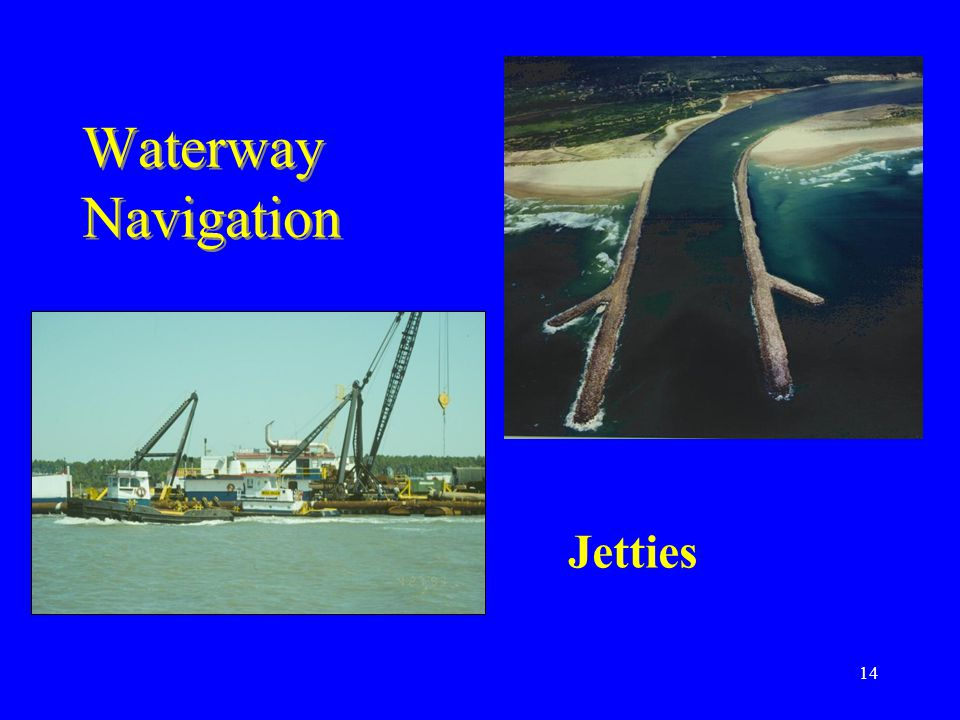 Waterway Navigation Jetties