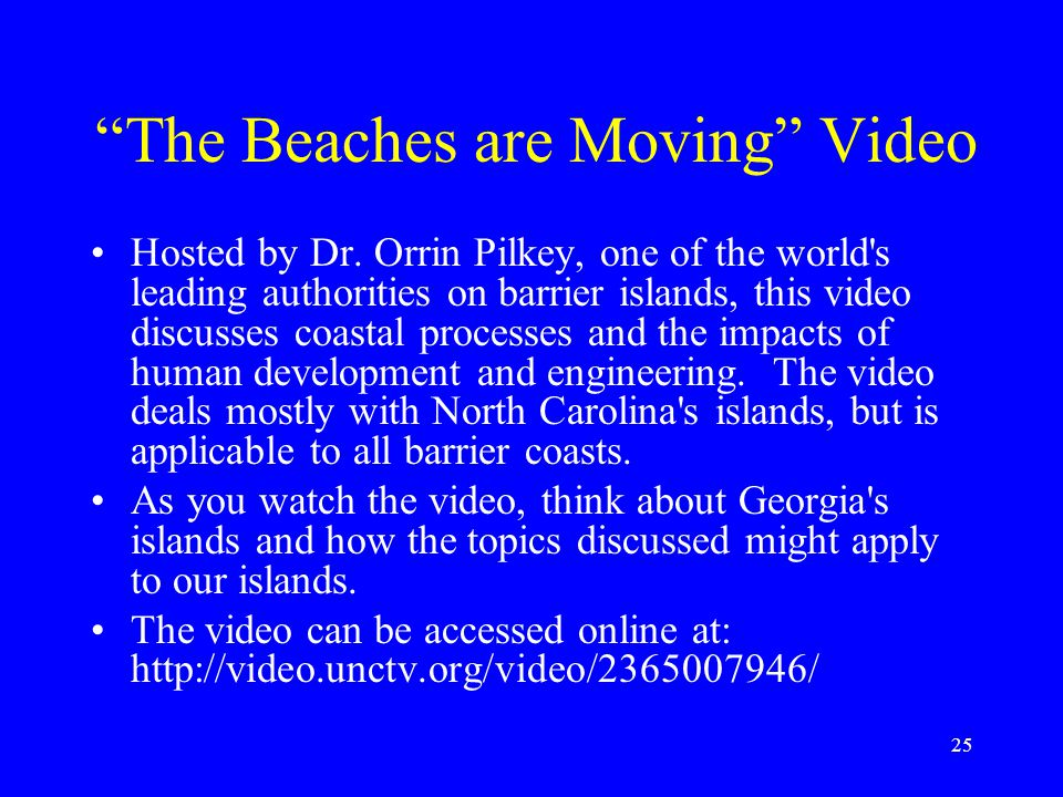 The Beaches are Moving Video