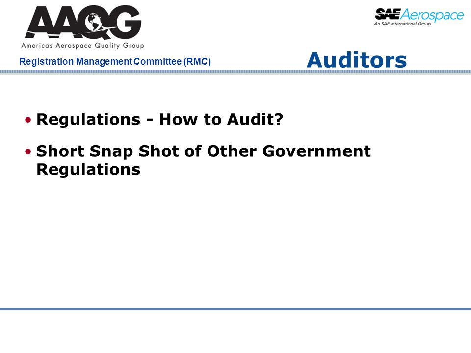 Auditors Regulations - How to Audit